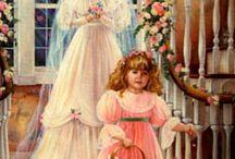 Card vittoriane,vintage