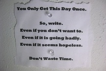 write / by Jenny Brenner