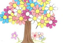 spring crafts spring themed crafts and other activities for children