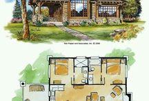 Casute / Small houses, tiny houses, log houses