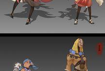 Diseño de personajes / Ideas para el diseño de personajes.
