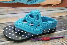 Crochet Flip Flops and Slippers