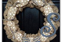 My Wreaths / by Nan Hatten