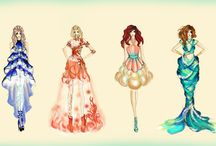 fashion from fiction / by Lisa Bulovas