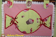 Cucito artigianale country / Cucito country e shabby chic di coordinati per la casa, biancheria, decorazioni