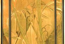 Alphonse Mucha (1860–1939) / Czech painter and illustrator