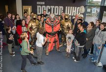 Media Events / Photographs of media events such as the recent launch of the new Doctor Who Experience in Cardiff Bay