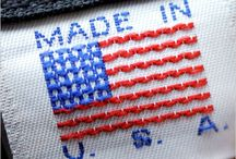 Made in the USA / by Park Fran