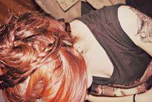 Hair & tattoo
