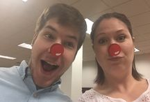 Red Nose Day / We're spending the entire day raising money with funny to support the Red Nose Day Fundraiser! Follow and pin our Red Nose Day Selfies and donate to our Team Page:   https://www.crowdrise.com/integritystaffingsolutions/fundraiser/integritystaffing1