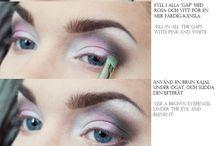 Makeup, nails