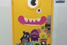 Kapılar ve panolar / Class door