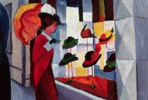 MACKE August (1887-1914) / Peintre allemand