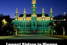 lowest airfare to vienna