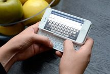 A QWERTY iPhone? / We bring you the brand new Ultra-thin Bluetooth Slide-Out Keyboard for your iPhone 5! It easily pairs over Bluetooth using wireless connectivity and features a slide-out QWERTY keyboard with LED back light that allows you to type when it's dark. Pretty cool, huh?! / by Naztech