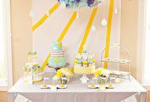 :: sunshine party :: / idea for 1s birthday