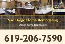 San Diego Home Remodling / San Diego homeowners are discovering the small changes can make big differences in the livability of their homes. Because you are living in the same old house for years without making any changes can get really boring. These changes come by way of replacing doors or windows, switching out old tile, or painting the interior of your home. http://www.sandiegohomeremodeling.com