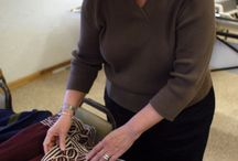 Machine Knitting / Art classes. Knitters learn how knitting machines work and techniques needed to knit fabric/garments. Techniques include casting on, binding off, measuring/using gauge, shaping methods. Advanced techniques include stockinette, garment construction, shaping, seaming, more! http://fineline.org/classes/txcrochet.html