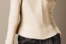 Knitwear / Knitwear, wool, chunky knit sweaters