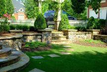 Beautiful backyards / Backyard gardens