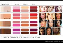 lipstick shades / About the lipstick shades, which brings beautiful and colorfull smaile on your face