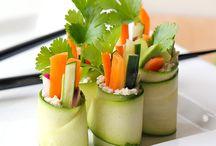 Raw main dishes