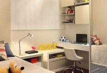 Área de tareas para niños