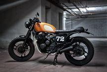 #Motorecyclos Yamaha Vitamine / #custom #motorcycles #motorecyclos #tracker #scrambler #caferacer #yamaha xj 600
