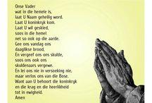 Die Onse Vader gebed