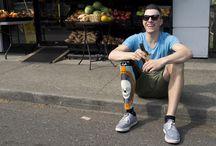 """Inspiration- real heroes /  """"Singurul handicap în viață este o atitudine negativă""""- Scott Hamilton"""