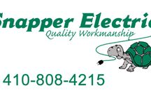 Harford County Electrician / Snapper Electric is family Owned & Operated. All of our work is installed in accordance to the National Electric code, we also provide a 5 year warranty on parts and labor!
