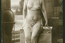 Risque Art, French Postcards, Vintage Erotica