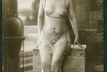 Risque Art, French Postcards, Vintage Erotica