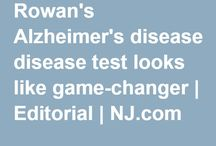 Alzheimer's / My mommy was diagnosed with Alzheimer's recently. I'm learning what I can.