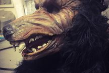 Masks and Makeup / Masks and Makeup Applications for Costumes at Dark Hour Haunted House