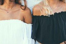 roupa de melhores amigas