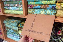 Fabric storage folding