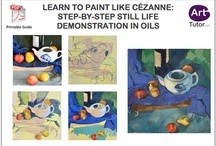Oil Painting Tips / Pins from around the web and ArtTutor.com to help you improve your oil painting technique / by ArtTutor.com