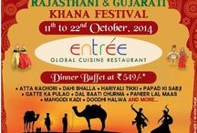 Rajasthani & Gujarati Khana Festival / Join us for an authentic Rajasthani  & Gujarati Khana Festival! A must come for all the food lovers!