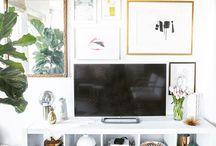 TV væg