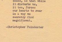 { poesie }