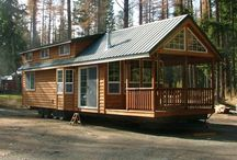 Cabins. Porches. Tiny Homes