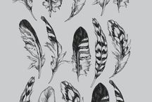 feather tats