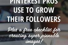 Pinterest Tips!