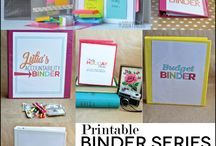 Organization and Printables / by Kado Kitchen