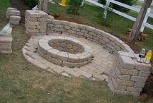 Fire pit / by Karen Graves