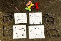 Creative things to do with cookie cutters - Pyssla med pepparkaksformar!