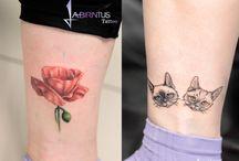 Tattoos by Labirintus Tattoo / Saját munkáink