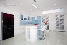 Vinmus thiết kế và thi công bếp nhà MC Thanh Thảo / Vinmus thiết kế và thi công bếp nhà MC Thanh Thảo