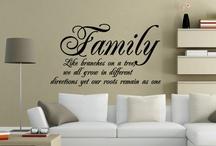 Scris pereti familie
